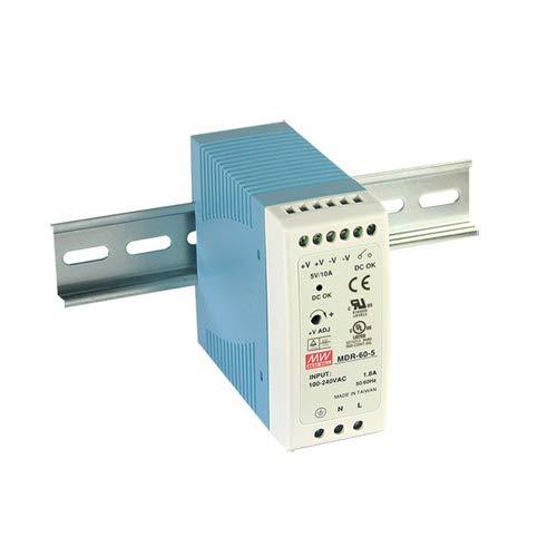 Din-Rail Fuente de alimentación 60W 24V 2,5A ; MeanWell, MDR-60-24