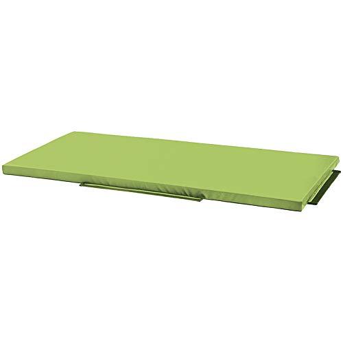 Petit tapis de réception vert clair