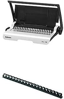 Fellowes Binding Machine Pulsar+ Comb Binding Machine and 100-Pack Plastic Comb Bindings, 1/2