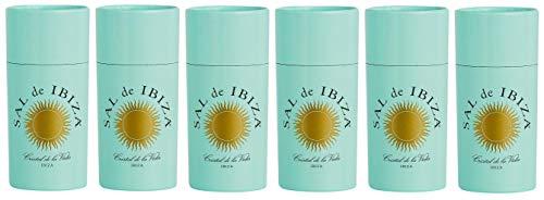 6 Confezioni SAL DE IBIZA con dosatore macinasale 125 gr