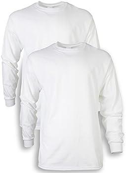 2-Pack Gildan Men's Ultra Cotton Long Sleeve T-Shirt