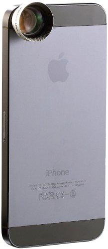 Somikon Televorsatz Smartphone: Magnetisches Teleobjektiv für Smartphones, 2X-Vergrößerung (Objektiv für Handy)
