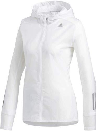 adidas Damen Response Jacket Sport, White, S