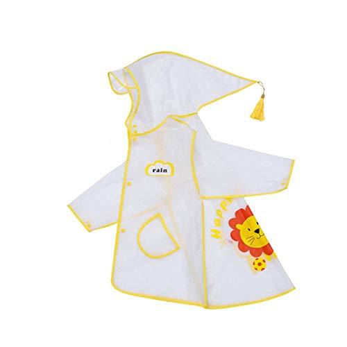 Moent Conjunto de trajes para niñas, unisex, con capucha, cortavientos e impermeable, para niñas y niños, para Pascua, ropa de lluvia para regalos (multicolor, 100)
