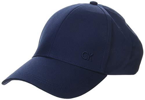 Calvin Klein Herren CK Baseball Cap, Blau (Navy 411), One Size (Herstellergröße: OS)