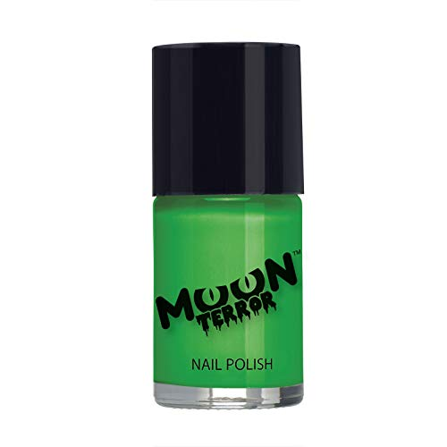 Moon Terror Halloween Nail Polish, Green (Best Glitter Nail Polish Uk)