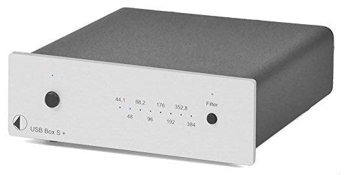 Pro-Ject USB Box S + D/A-Wandler, USB, Silber