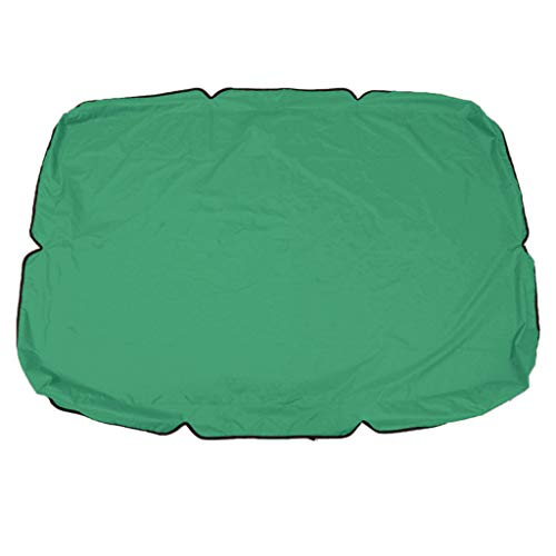 Sixpi 2-People Patio Swing Cover/Replacement Waterproof Protection Cover/Outdoor Swing Canopy/Replacement Top Cover for Porch Backyard Garden Patio Yard, Top Cover Only (Green)