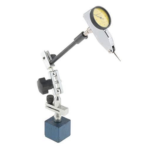 プロ仕様 ダイヤルテストインジケータゲージ 磁気ベースホルダー 0.01mm 精度