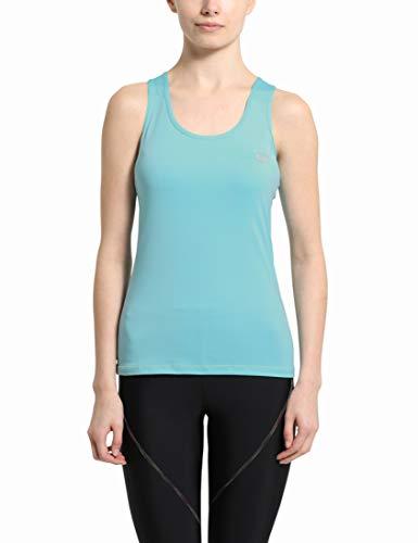 Ultrasport Smoky Top de Deporte/Correr/Entrenamiento, Mujer, Azul, XL