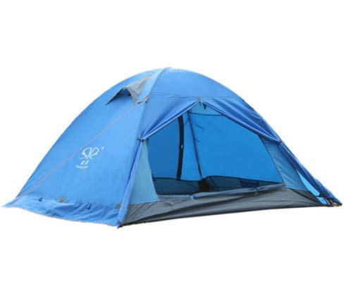 Outdoor Waterproof Tent, Outdoor super light double double aluminum pole tent 2 people anti-storm rain snow skirt wild camping hiking tent,For Beach Camping Hiking Fishing for Beach Camping Hiking Fis