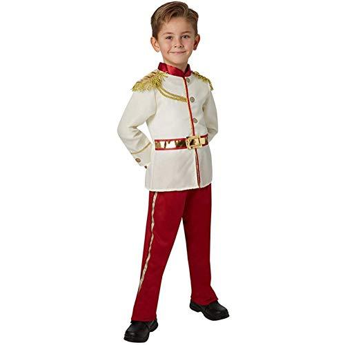Matilda Hermoso y Encantador Vestido de príncipe Azul, Disfraz de actuación de Escenario de Halloween para niño(Size:XL)