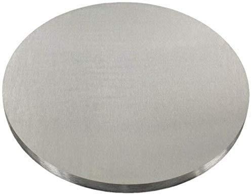 Edelstahl Ronde V2A 30-150mm Ankerplatte Deckel Flansch Bodenplatte Platte VA (A2 - AISI304, 140x10mm²)
