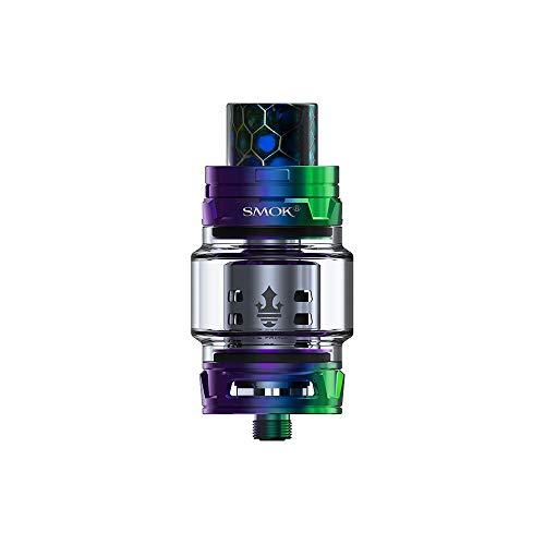 Smok TFV12 Prince Tank, Adattare Mag/X Priv/G Priv 2 Luxe/Majesty Luxe/I Priv/E Priv/Devilkin / T Priv 3 / Stick Prince-No nicotina e tabacco (Arcobaleno)