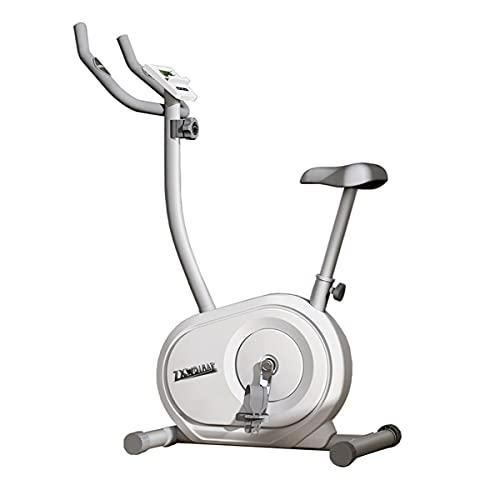 JiuErDP Bicicletas Estáticas Indoor De Fitness Spinning Bici, 8 Marchas Magnetorresistencia Ajustar, con 6KGVolante De Inercia,Sillín Ajustable, Máx 110kg