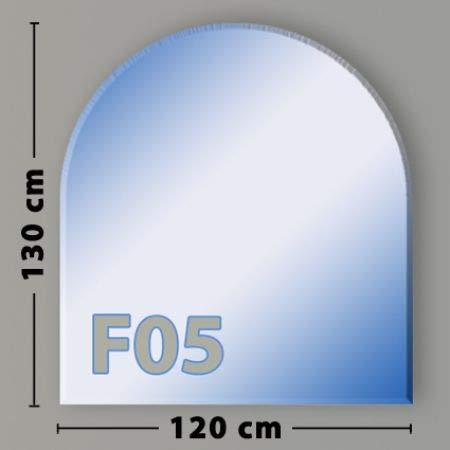 Rundbogen F05 Funkenschutzplatte Glasbodenplatte aus Sicherheitsglas