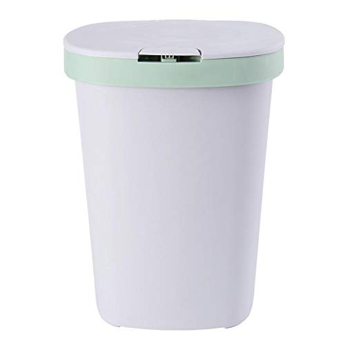 XINLANYU Plastic Trash can Trash can Square Trash can Kitchen Trash can with lid
