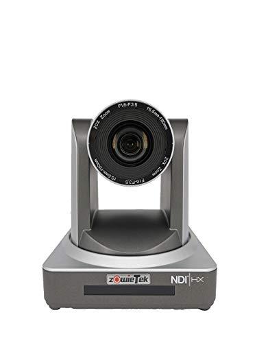 PTZ Streaming Kamera mit NDI | HX + POE Optik 20X IP Kamera mit gleichzeitigen HDMI und 3G-SDI Ausgängen