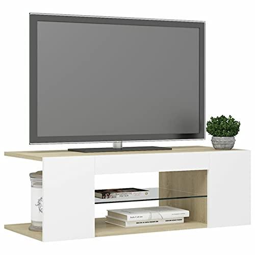 Susany Armario de TV con Luces LED Mueble Salon TV Mesa de...