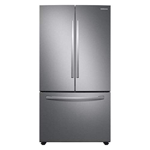 SAMSUNG RF28T5001SR 28 cu. ft. Large Capacity 3-Door French Door Refrigerator in Stainless Steel