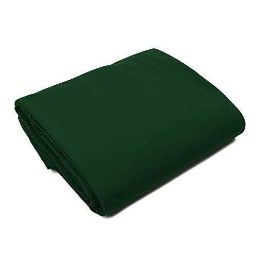 dDanke Billardtuch für Billardtisch Pool Tisch Tischtuch Abdeckplane Außen Billardstoff (Grün,8ft)
