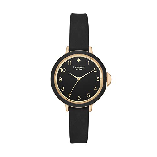 kate spade new york Women's Park Row Silicone Stainless Steel...