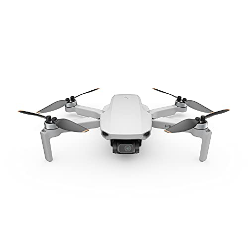 DJI Mini SE - Camera Drone with 3-Axis Gimbal, 2.7K Camera, GPS, 30-min Flight Time, Reduced Weight, Less Than 0.55lbs / 249 Gram Mini Drone, Improved Scale 5 Wind Resistance, Gray