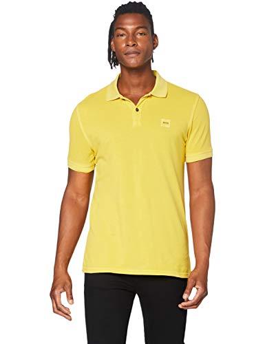 BOSS Herren Prime Poloshirt, Gelb (Medium Yellow 723), X-Large