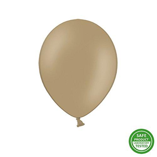 goodymax 50 Luftballons 30 cm Heliumballons Ballons Luftballon Ballon Helium EU Produkt ! (Cappuccino)