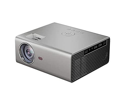 FGDFGDG Mini proyector portátil con WiFi Bluetooth, proyector de Video Full HD 1080p, proyector de Video LED, microproyector con teléfono Inteligente USB/Vga/HD/SD/AV, Sistema de Cine