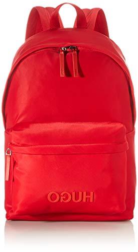 HUGO Record_Backpack, Mochila para Hombre, Bright Red620, Einheitsgröße