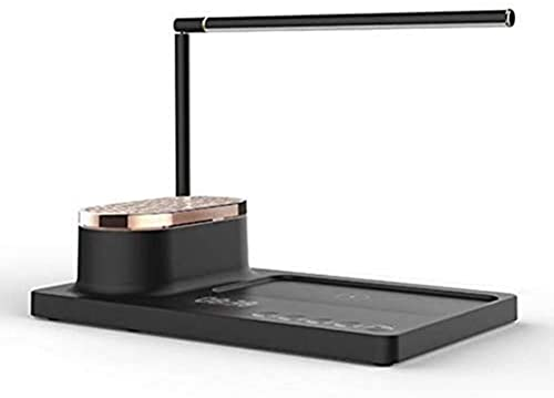 KFJZGZZ Lámpara de Mesa de Audio LED Lámpara de Escritorio de Carga para el hogar Inteligente Lámpara de Libro Lámpara de Ojo de Ojo Enchufe
