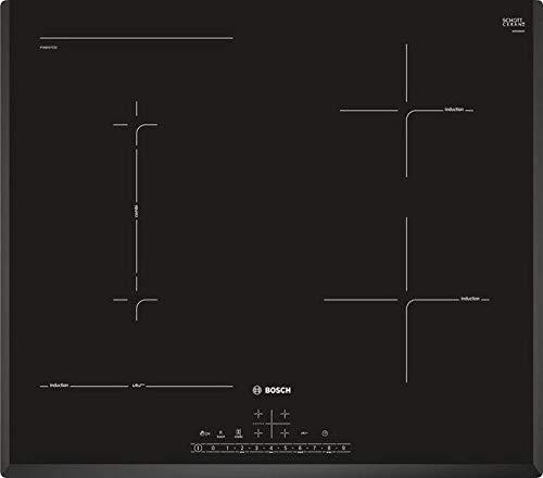 Bosch Inductie kookplaat met 4 Verwarming Velden PVS651FC5E, Glas