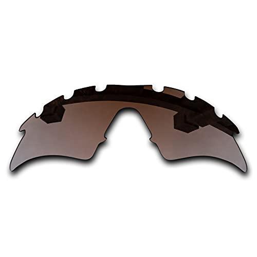 SYEMAX Lentes polarizadas de recolocación de espejo combinables con Oakley M Frame Sweep ventilado Sunglass - Bronce marrón no polarizado