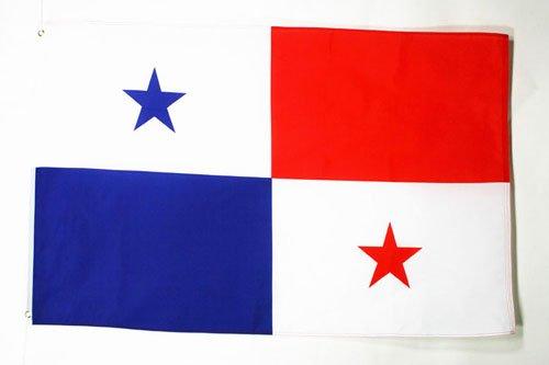 AZ FLAG Flagge Panama 150x90cm - PANAMAISCHE Fahne 90 x 150 cm - flaggen Top Qualität