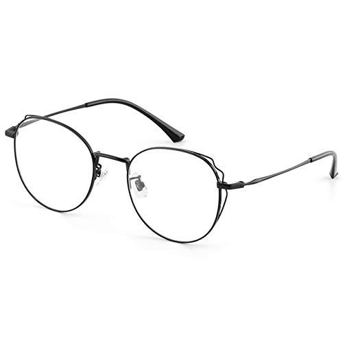 blue light glasses |gafas de sol| Moda anti-Frame azul radiación de la computadora de los vidrios de la mariposa dulce plana cristales hembra gafas de silicona almohadillas de la nariz Conjuntos CP pi