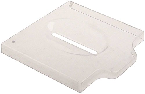 Deckel für Nudelmaschine Mastro CBF0001, Cookmax 516001, Fimar MPF1,5 Breite 194mm transparent Höhe 18,5mm Länge 190mm Kunststoff