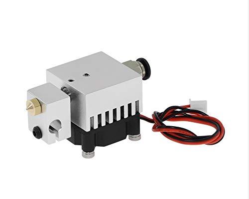 LMY-PULLEY, 1pc 3D Quimera Hotend Kit de 2 en 2 de cada extrusora de varios extrusión Todo Metal MK8 V6 de doble extrusora de 0,4 mm / 1,75 mm Piezas de la impresora 3D ( Color : Single spray )