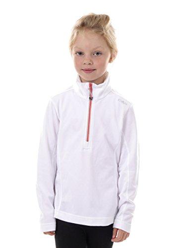 CMP T-Shirt Sweat Haut col Loisirs T-Shirt Blanc gridtech Stretch 3e09375, weiß