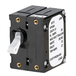 Paneltronics A' Frame Magnetic Circuit Breaker - 40 Amps - Double Pole