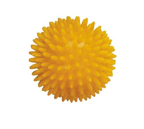 Balle hérisson de massage 8 cm jaune - PATTERSON MEDICAL
