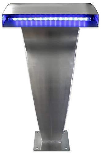 Warmpool Wellness Cascada de Acero Satinado con Led Maxi (Incluye Controlador y...