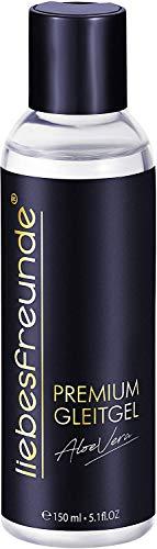 liebesfreunde® Premium Gleitgel wasserbasiert - Gleitmittel I Lube mit Aloe Vera für mehr Spaß beim Sex, 150 ml