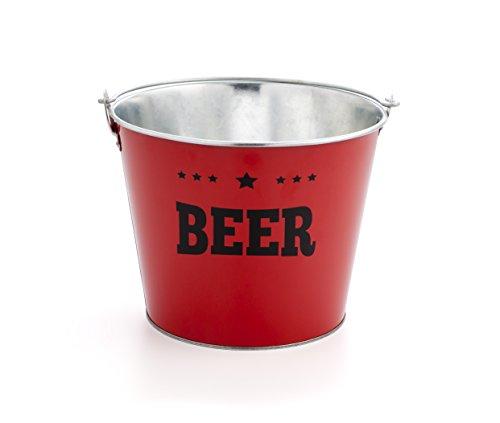 Quid Mi bar Cubo Cerveza de 6 l Beer, Rojo