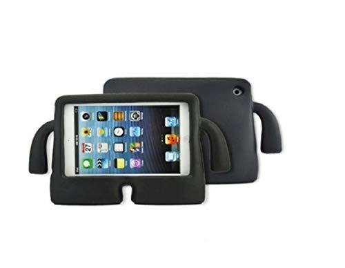 Funda para Samsung Galaxy T110 T230 T111 7' ANTICAIDA ANTICHOQUES Goma EVA Soporte para NIÑOS Super Protector (Negro)