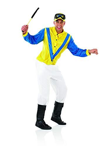 Fun Shack Azul Jockey Disfraz para Hombres - M