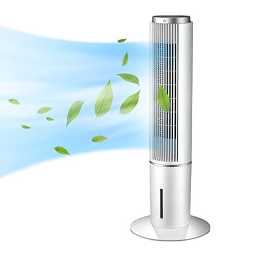 """SHPEHP 3-en-1 Refrigerador Evaporativo 41"""" Ventilador De La Torre con Función De Enfriamiento,3 Velocidades De Viento,3 Modos,Oscilación De 90o,12h Horas,Control Remoto Evaporativo Enfria-Blanco Un"""