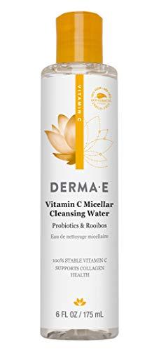 DERMA E Vitamin C Micellar Cleansing Water, 6 oz