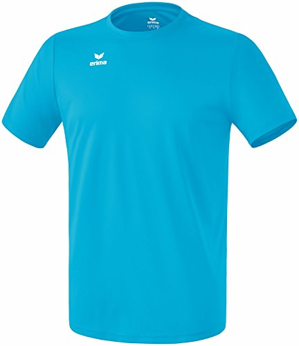 Erima Kinder Funktions Teamsport T-Shirt, curacao, 140, 208655