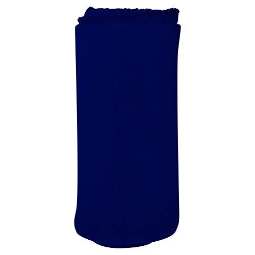 Imperial Home Cozy 50 X 60 Fleece Throw Blanket -Navy